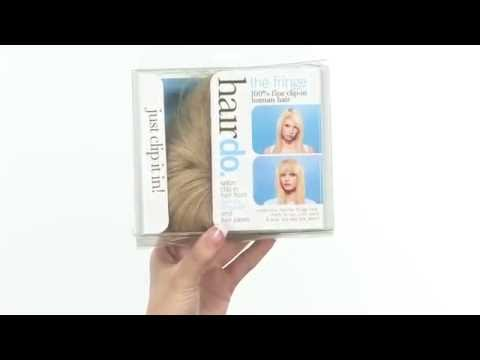 Human Hair Fringe (Bangs) by Jessica Simpson | Hairdo
