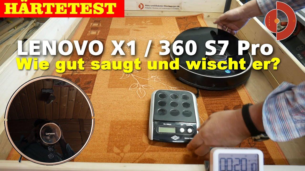 360 S7 Pro Test oder Lenovo X1 Test  Teil 2 [ Saugroboter Test]