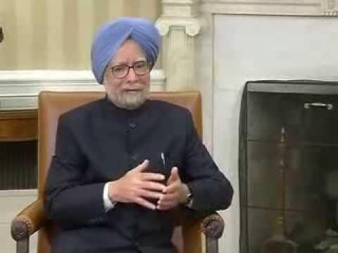 PM Manmohan Singh meets Prez Obama