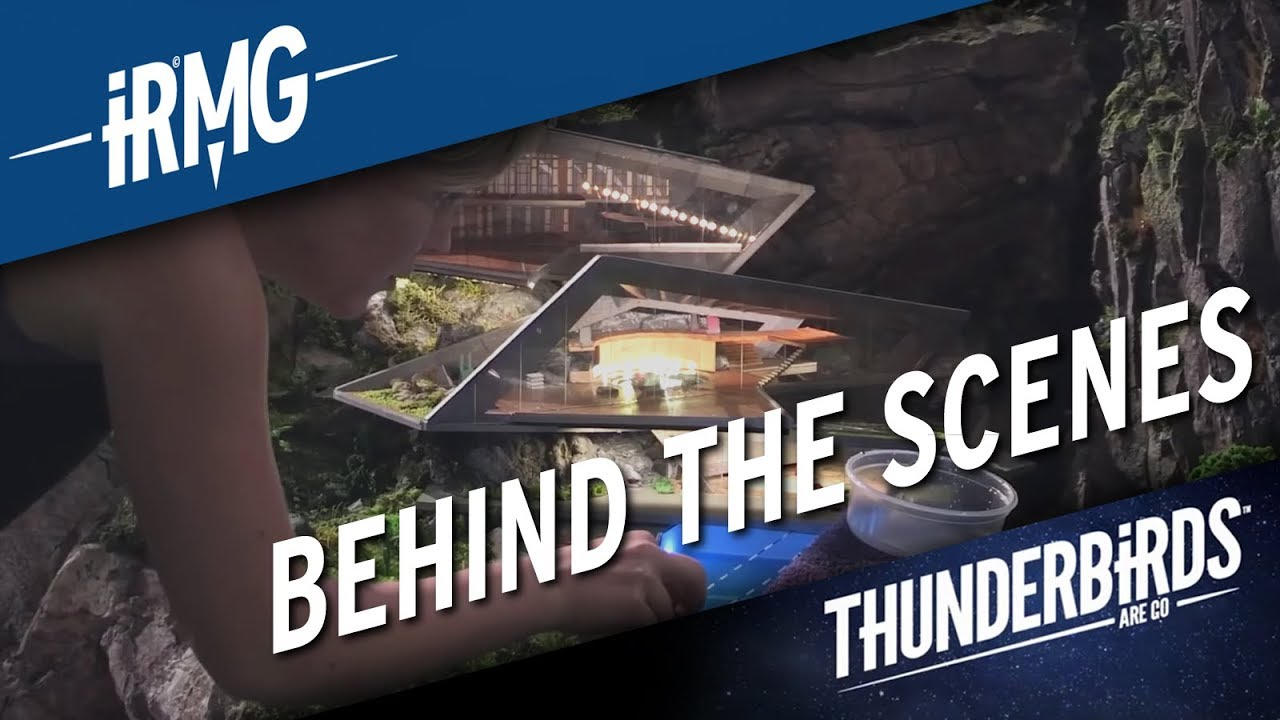 Thunderbirds Are Go Behind The Scenes Weta Workshop Youtube