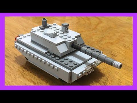The LEGO Tank Tutorial