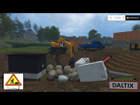 Farming Simulator 2015 | Map Daltix V2 Travaux Publics | Épisode 2