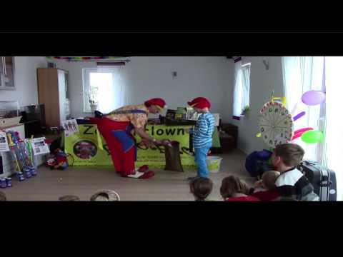 Kindergeburtstag Mit Zauberclown Rudolpho