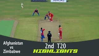 Highlights | Afghanistan vs Zimbabwe | 2nd T20 | Bangladesh Tri-Series 2019