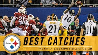 From franco harris to santonio holmes, take a look back at all the best catches throughout pittsburgh steelers history.#pittsburghsteelers #steelers #nfl sub...