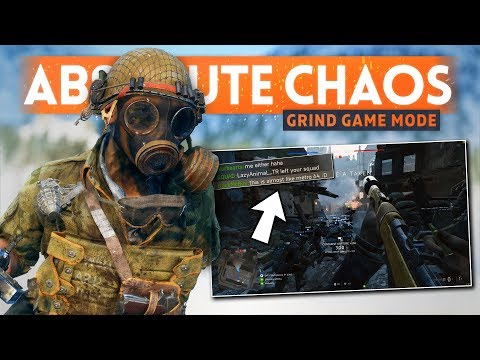 "It's Absolute Chaos... AND I LOVE IT! - Battlefield 5 New ""Grind"" Game Mode Gameplay thumbnail"