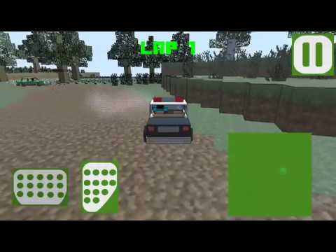 Сubic Race (by appsstudio) - racing game for android - gameplay.