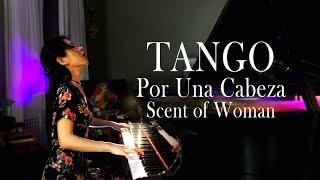 Por Una Cabeza (Carlos Gardel) Tango Piano by Sangah Noona w/ Sheet Music