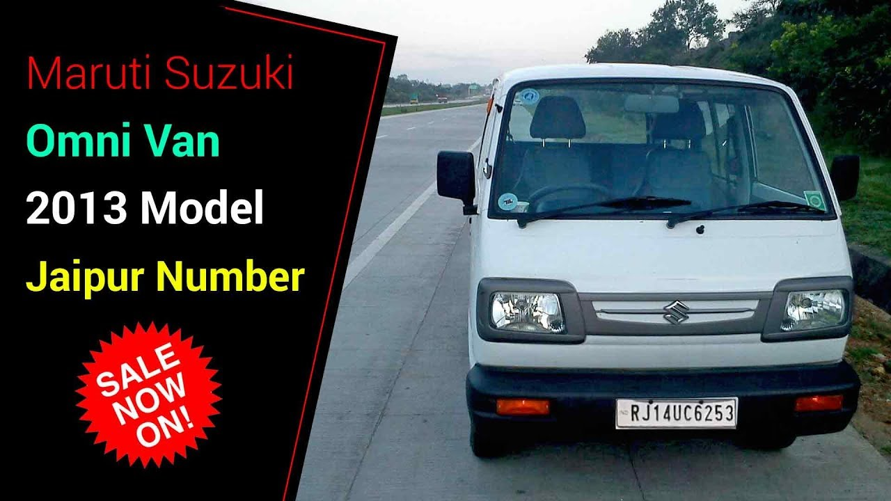 Maruti Suzuki Omni Van 2013 Model Jaipur Number Price Only 90 000