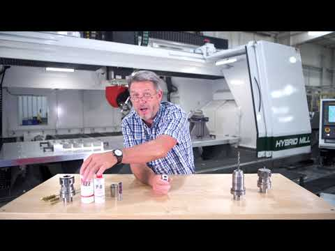 Chips & Tips - Nut and Collet Cleaning by C.R. Onsrud CNC Machining Centers