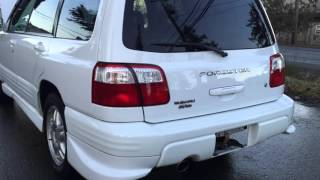 2000 Subaru Forester S/TB turbo model, Rare 5 speed manual transmission, 2.0L turbocharged boxer