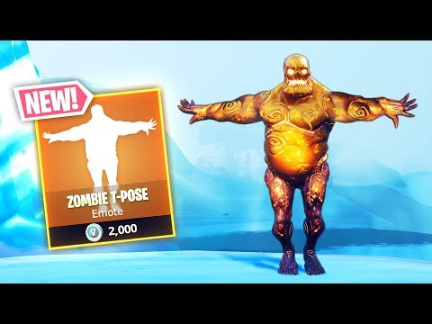 *NEW* ZOMBIE T-POSE!! - Fortnite Funny WTF Fails and Daily Best Moments Ep.896 thumbnail