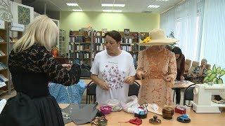 Библиотека в Дзержинском районе стала центром притяжения творческих людей
