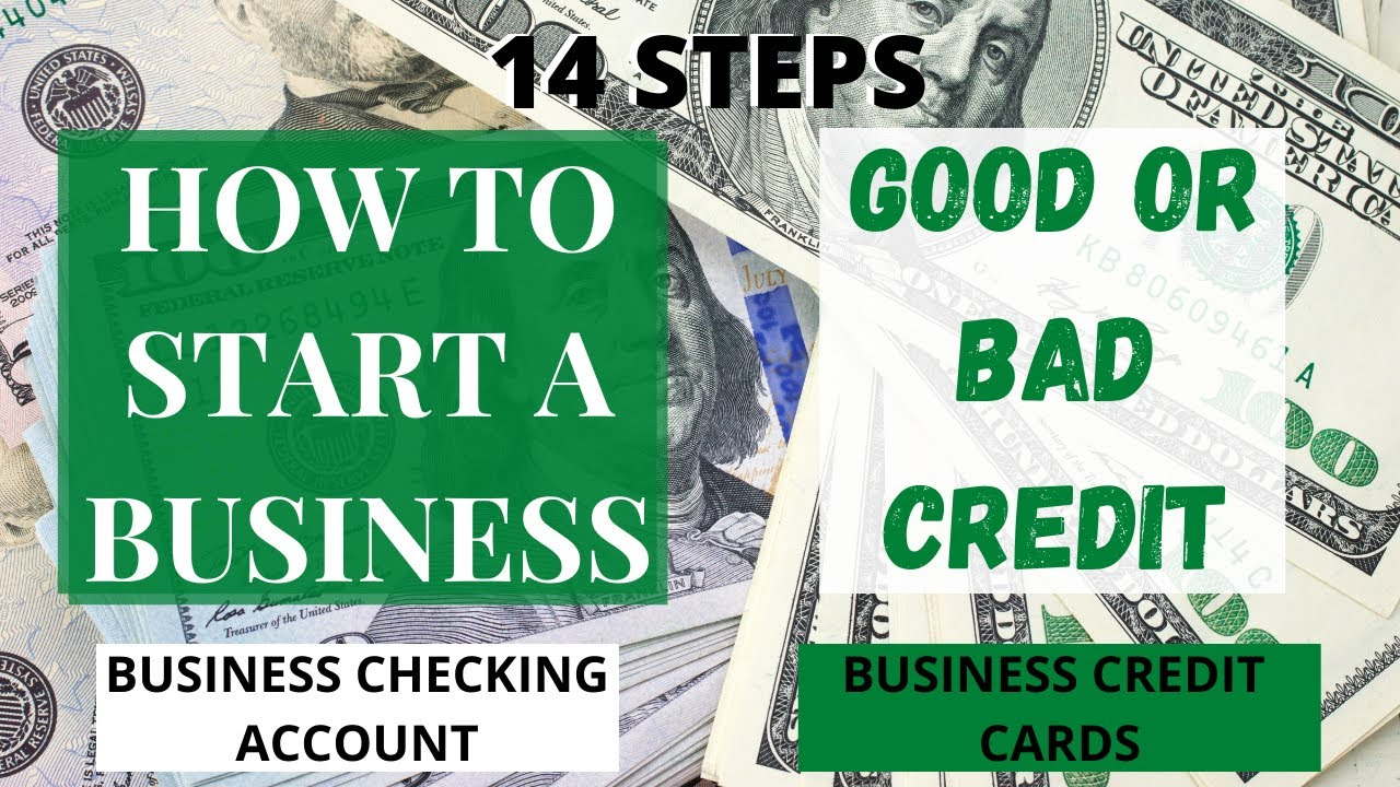 How To Start A Business Online With Good or Bad Credit (Step by Step)