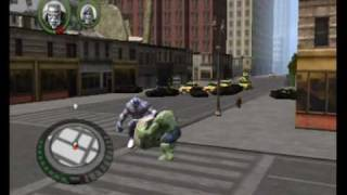 The Incredible Hulk Movie Game Walkthrough Part 8 (Wii)