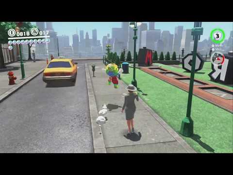 City Gardening: Building Planter - Super Mario Odyssey - No Commentary