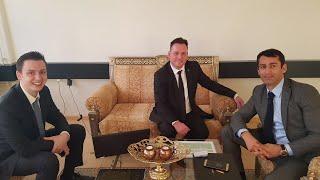 Interview 7.3.2018 Verway AG im Headquarter Schweiz   mit Ilhan Dogan und Simeon Wilhelm