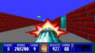 Wolfenstein 3D - Episode 2, Floor 5