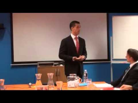 Vision PT CEO, Andrew Simmons presents at Max Club