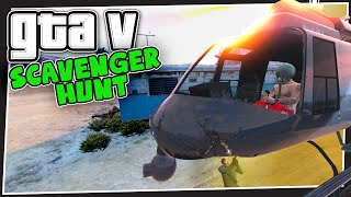 GTA 5 Online - Gang Attack (Scavenger Hunt #3)