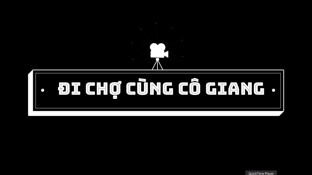 [Đi chợ cùng cô Giang] #1 Rau muống tiếng Hàn là gì