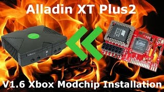 How to Install an Alladin XT Modchip in a v1.6 Xbox