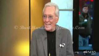Andy Williams - Moon River and Me on ABC News (Year 2010)