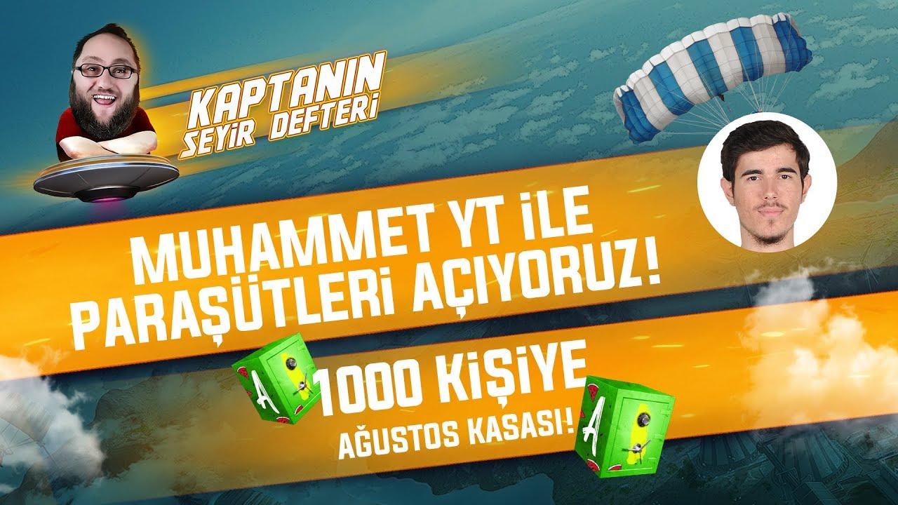 KAPTANIN SEYİR DEFTERİ 1000 KİŞİYE AĞUSTOS KASASI /w MuhammetYT