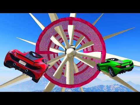 SUPERCAR OBSTACLE RACE COURSE! (GTA 5...