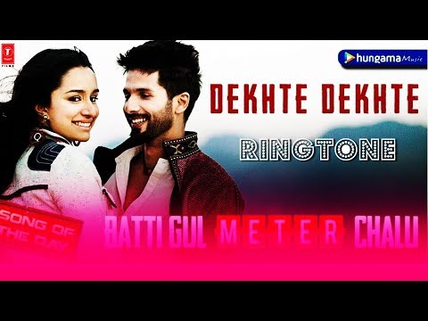 Dekhte Dekhte Song Ringtone Download | Dekhte Dekhte Atif Aslam Ringtone | Download Now