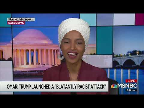 Rep. Ilhan Omar to Rachel Maddow: Trump Is 'Corrupt,' 'Inept,' and the 'Worst President We've Had'