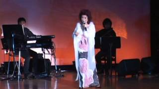 高久由紀子 第四回シャンソンコンサート「私のパリ」より 2009年4月7日 ...