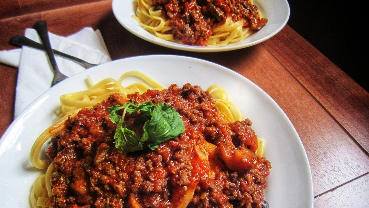 Cách làm mì spaghetti cho người bận rộn