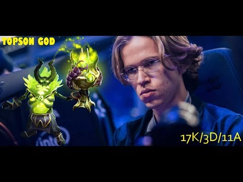 OG.Topson's PUGNA PLAYER PERSPECTIVE VS LIQUID GAME 3 - JUST LIKE RANKED MATCH FOR TOPSON GOD #Ti9