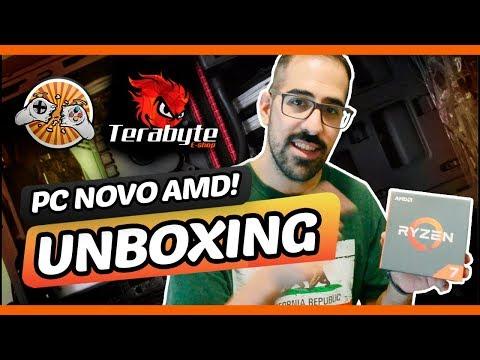 Pior Jogador   UNBOXING PC NOVO DO BOZÓ!!! Terabyte!!!