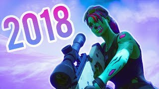 My Best Snipes Of 2018!! Fortnite Montage
