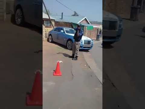 Rolls Royce stolen in Johannesburg and recovered in Riverlea