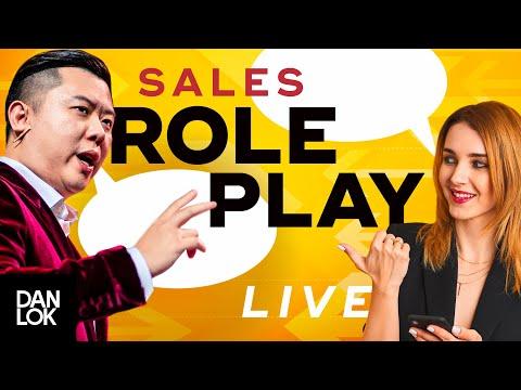 Live Sales Role Playing - Dan Lok