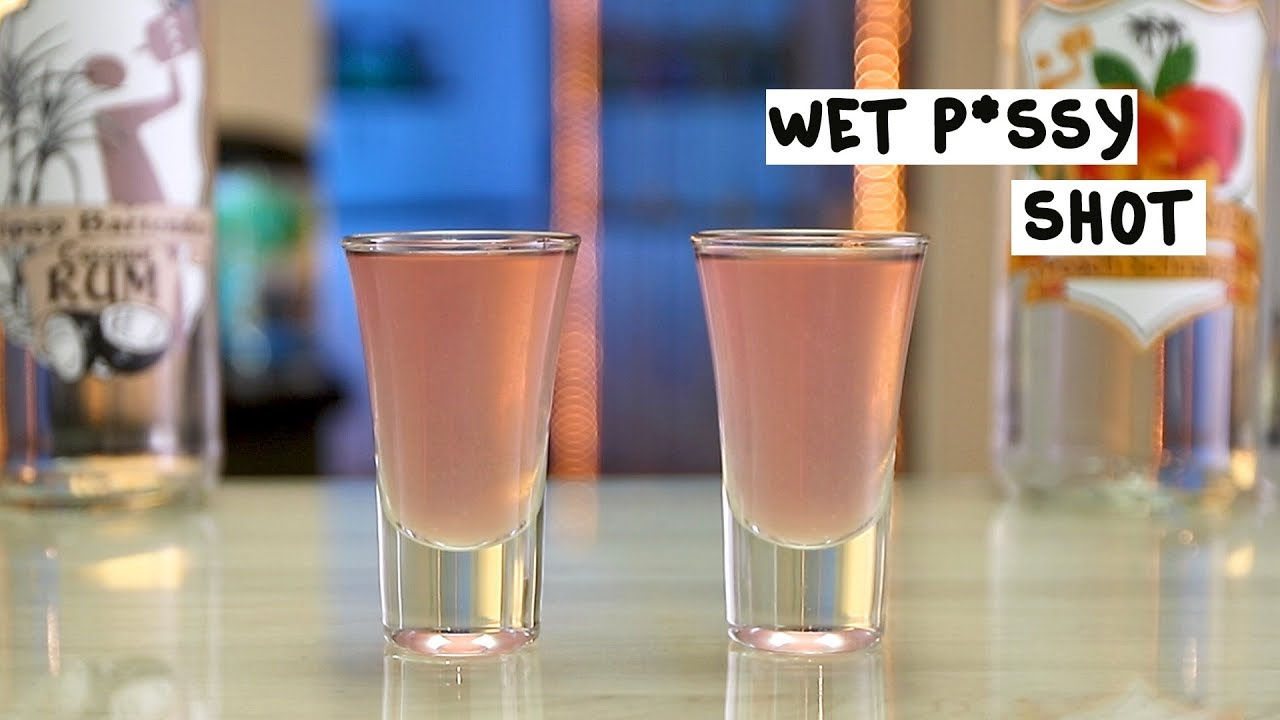 Remarkable, rather wet pussy shot drink