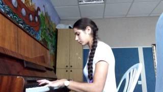 """Requiem for a dream"" на фортепиано - Мария Карпенко 4.12.14 год"