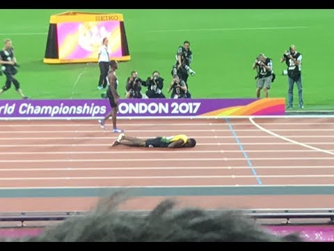 Usain Bolt injury in last Career Race | Men's 4x100m Relay Final London IAAF World Champ 2017