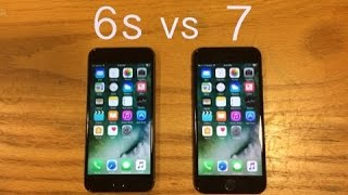 iPhone 7 vs iPhone 6s Speed Test Comparison