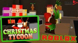 Roblox CHRISTMAS TYCOON | RadioJH Games