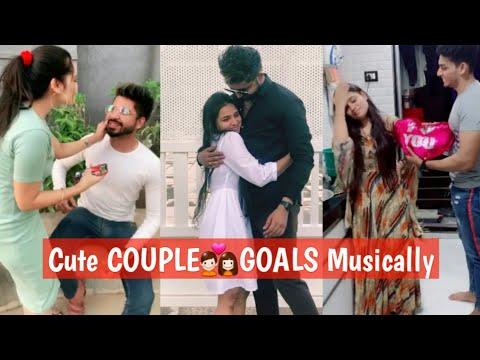 Best 'ROMANTIC COUPLE💑GOALS 2019' | BEST TIKTOK RELATIONSHIP GOALS | CUTE  COUPLES MUSICALLY BF GF