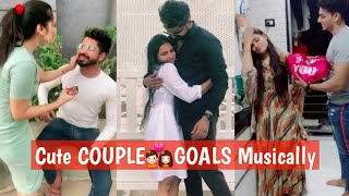 Best 'ROMANTIC COUPLE💑GOALS 2019' | BEST TIKTOK RELATIONSHIP GOALS | CUTE COUPLES MUSICALLY BF GF