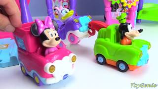 Mickey Mouse Clubhouse Friends Visit Minnie Ice Cream Parlor