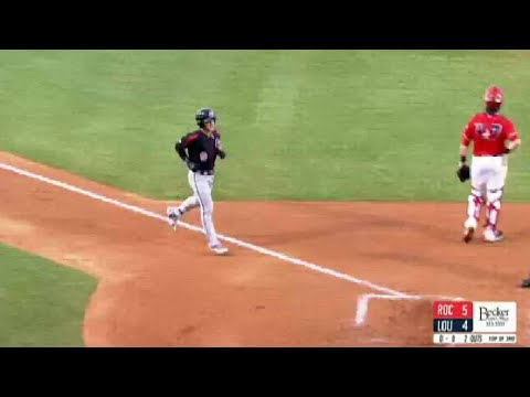 Red Wings' Field hits a grand slam