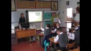 Открытый урок.Русский язык. 4 класс.