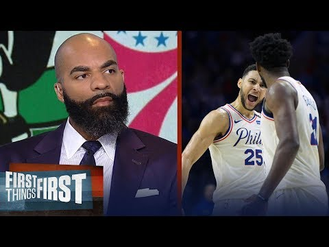 Carlos Boozer reacts to Philadelphia winning Game 4 against Boston | NBA | FIRST THINGS FIRST