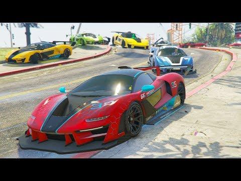 VICTORIA CONTRA 20.000 COCHES! - CARRERA GTA V ONLINE - GTA 5 ONLINE